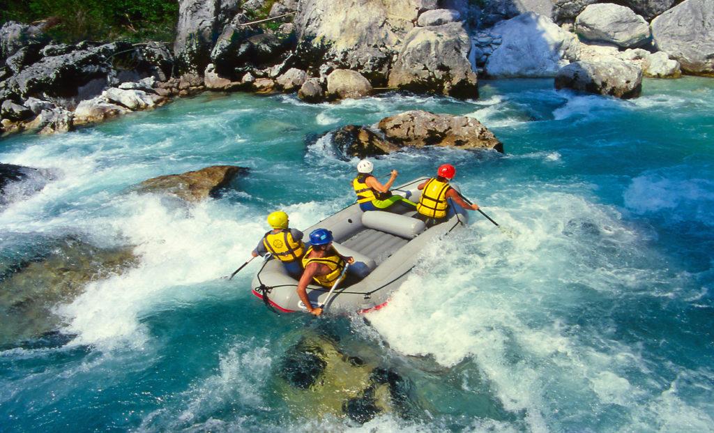 Rafting transfer